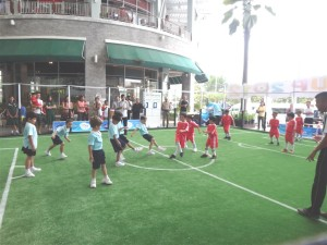 football at marketvillage (Medium)